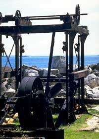 Machinery at the Marble Quarry