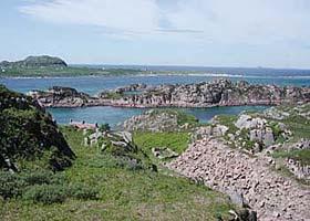 View From Tor Mor Quarry To Iona